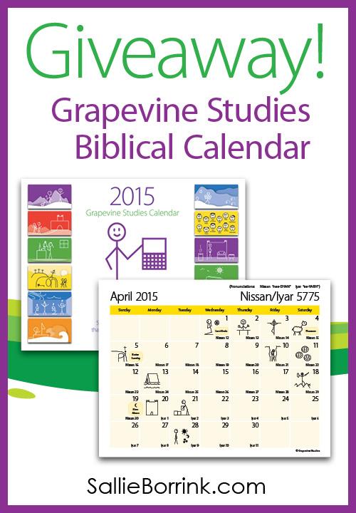 Grapevine Calendar Giveaway