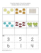 Spring Numbers and Counting Activities 1