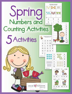 Spring Numbers and Counting Activities