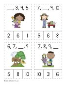 Spring Numbers and Counting Activities 5
