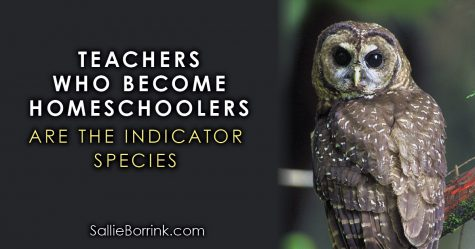 Teachers who become homeschoolers are the indicator species 2