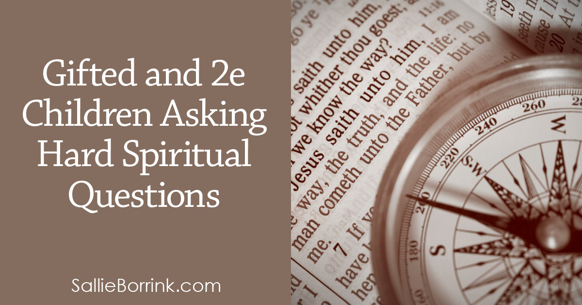 Gifted and 2e Children Asking Hard Spiritual Questions 2