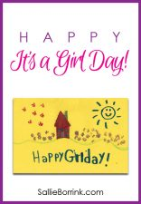 Happy It's a Girl Day!
