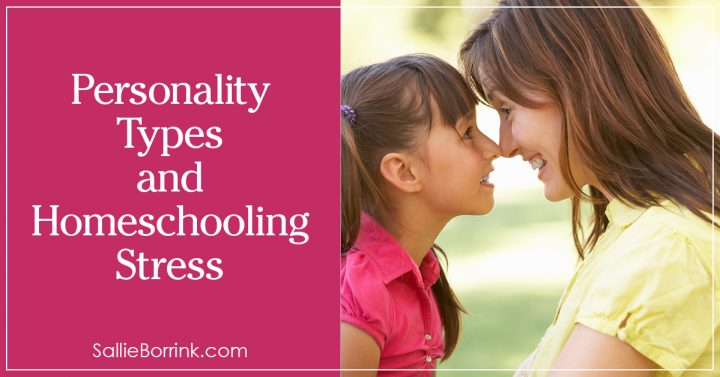 Personality Types and Homeschooling Stress 2