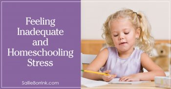 Feeling Inadequate and Homeschooling Stress 2