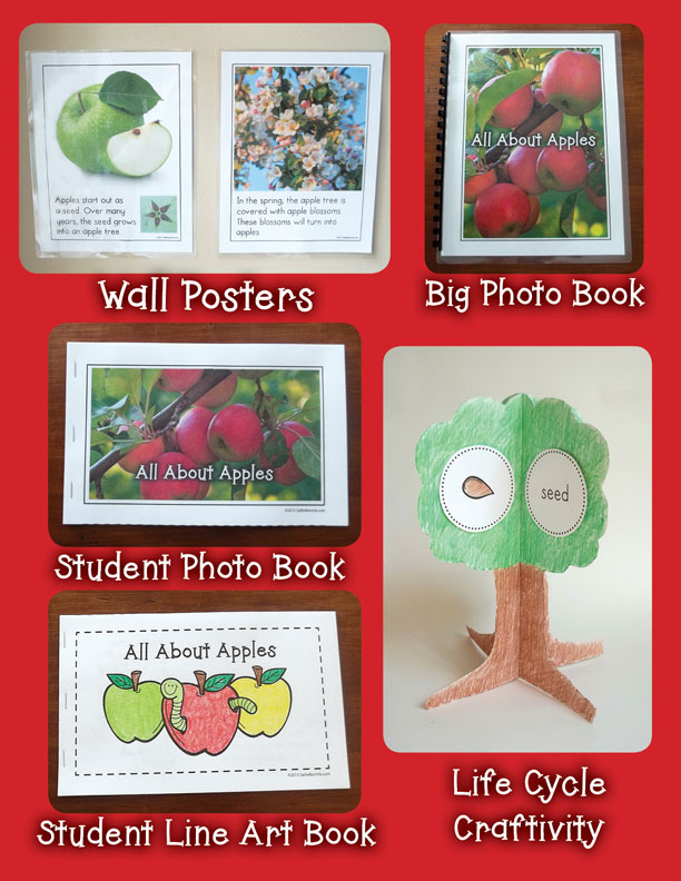 Apples Unit with Craftivity 1