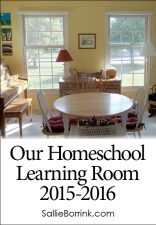 Our Homeschool Learning Room for 2015-2016