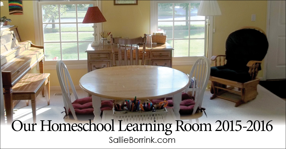Our Homeschool Learning Room 2015-2016 2