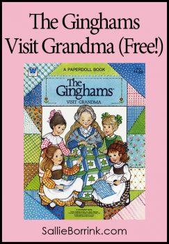 The Ginghams Visit Grandma Paper Dolls (Free!)