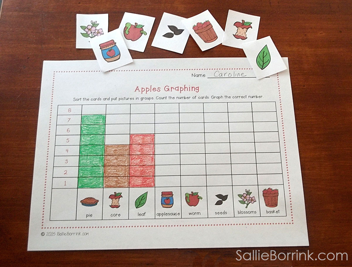 Apple Graphing Activity Pin