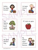Apple Writing Prompts and Papers 1