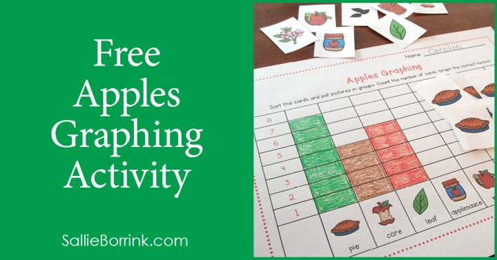 Free Apples Graphing Activity 2
