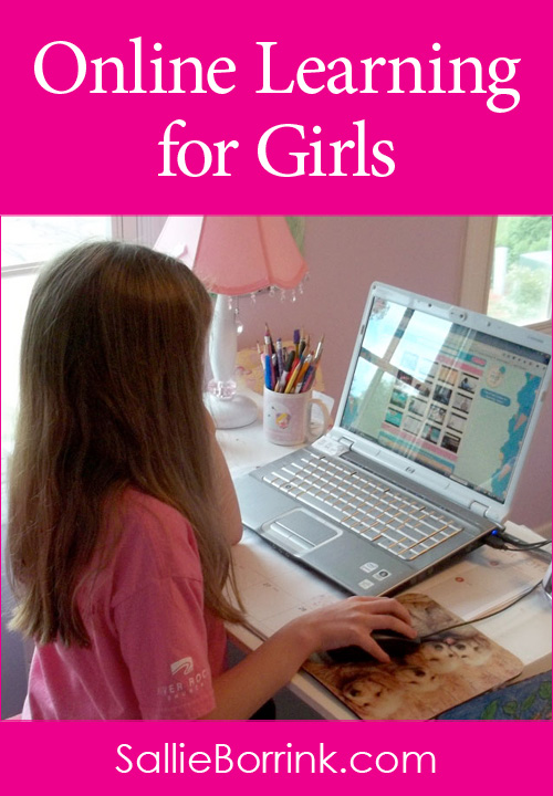 Online Learning for Girls with Always Icecream Website