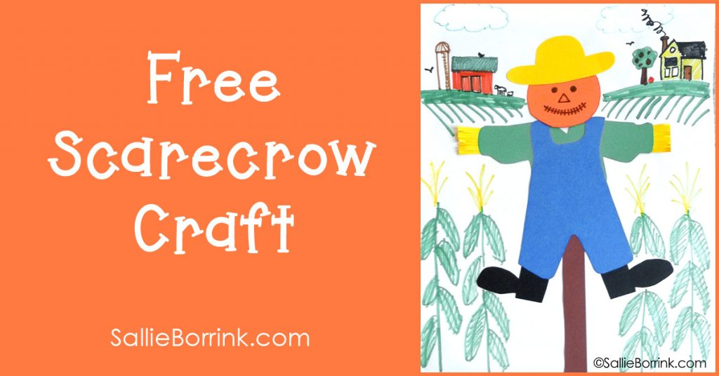 Free Scarecrow Craft 2