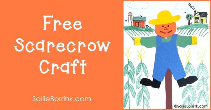 Free Scarecrow Craft 2