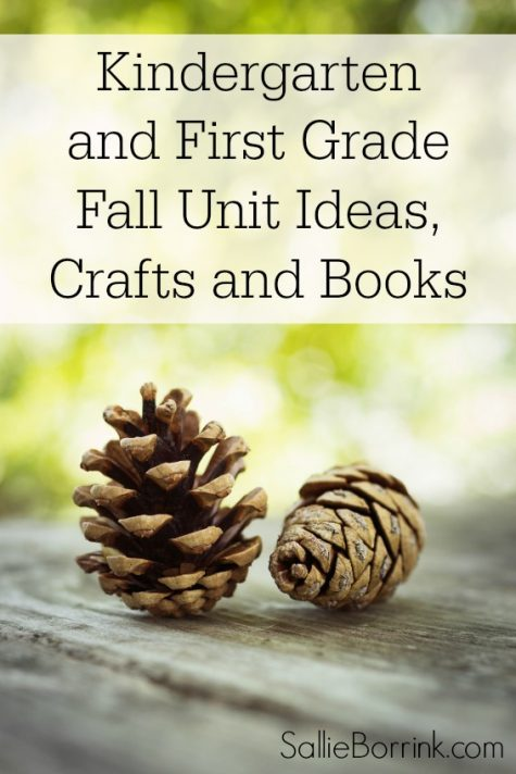 Kindergarten and First Grade Fall Unit Ideas, Crafts and Books