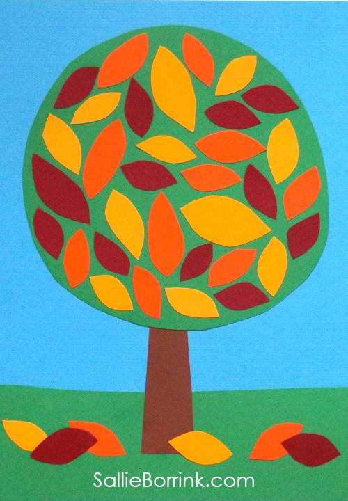 Leaves Art Pin