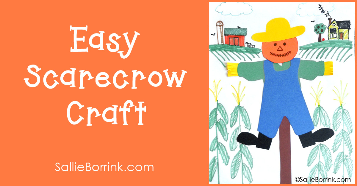 Easy Scarecrow Craft 2