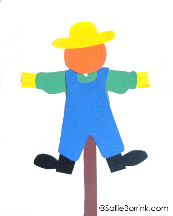 Scarecrow Craft -cropped