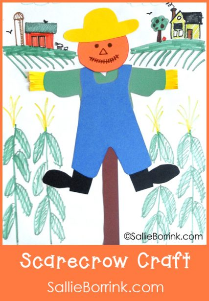 Scarecrow Craft with Landscape