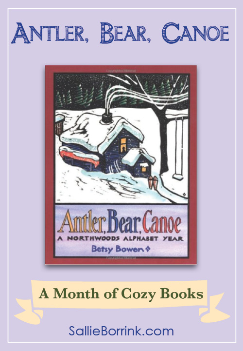 Antler Bear Canoe - A Month of Cozy Books