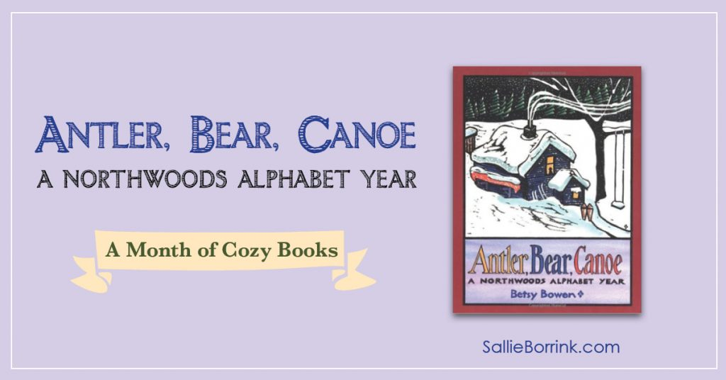 Antler Bear Canoe - A Month of Cozy Books 2