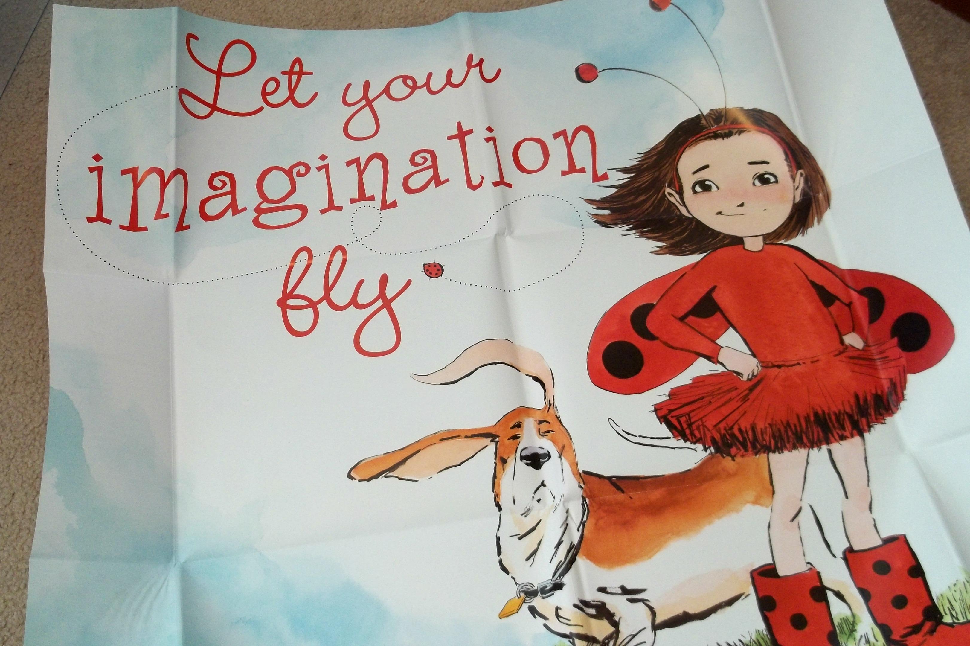 Ladybug Girl Gift Edition Poster