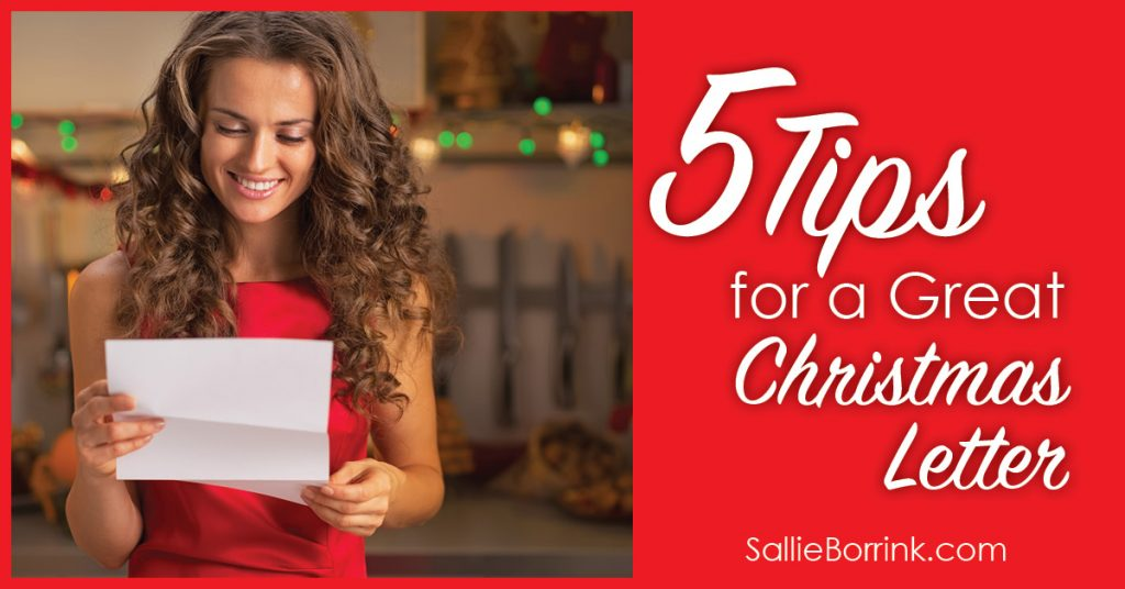 5 Tips for a Great Christmas Letter