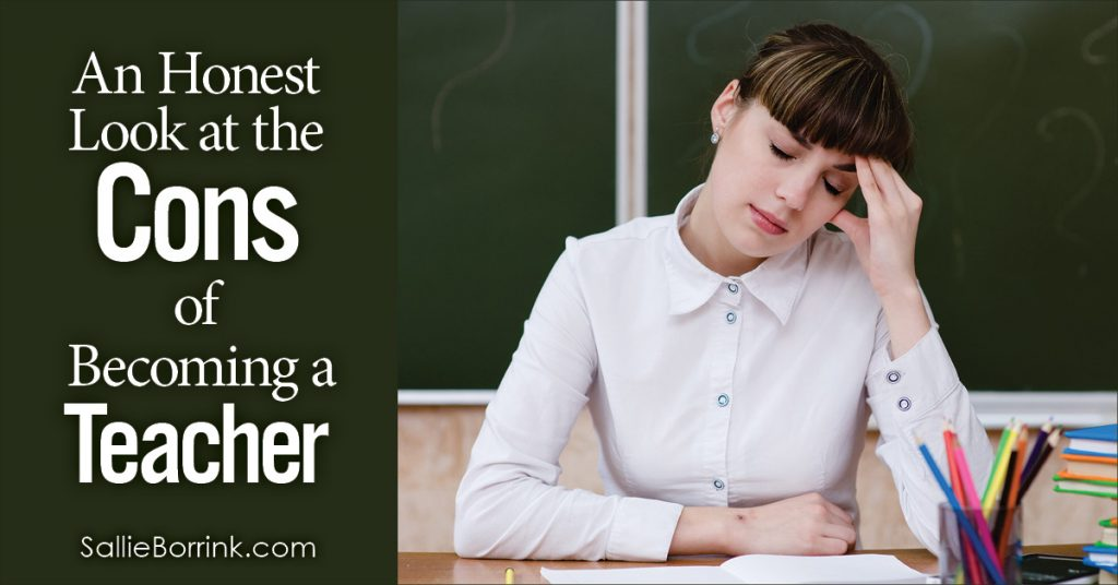 An Honest Look at the Cons of Becoming a Teacher 2