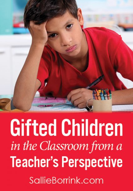 Gifted Children in the Classroom from a Teacher's Perspective
