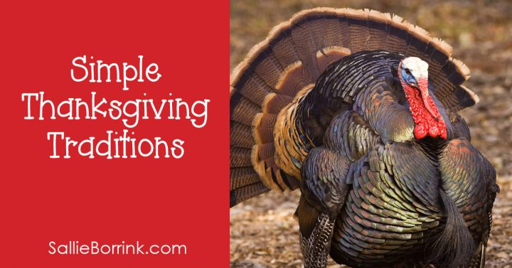 Simple Thanksgiving Traditions 2