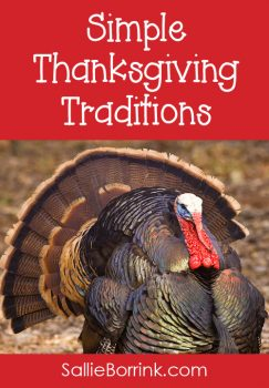 Simple Thanksgiving Traditions for Families