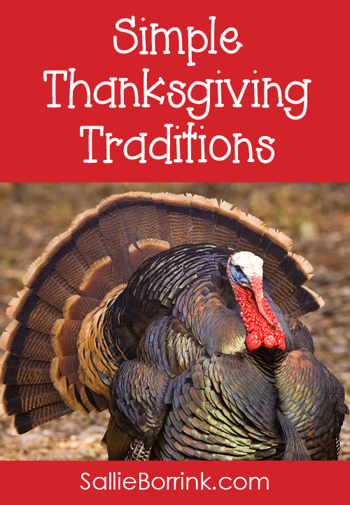 Simple Thanksgiving Traditions
