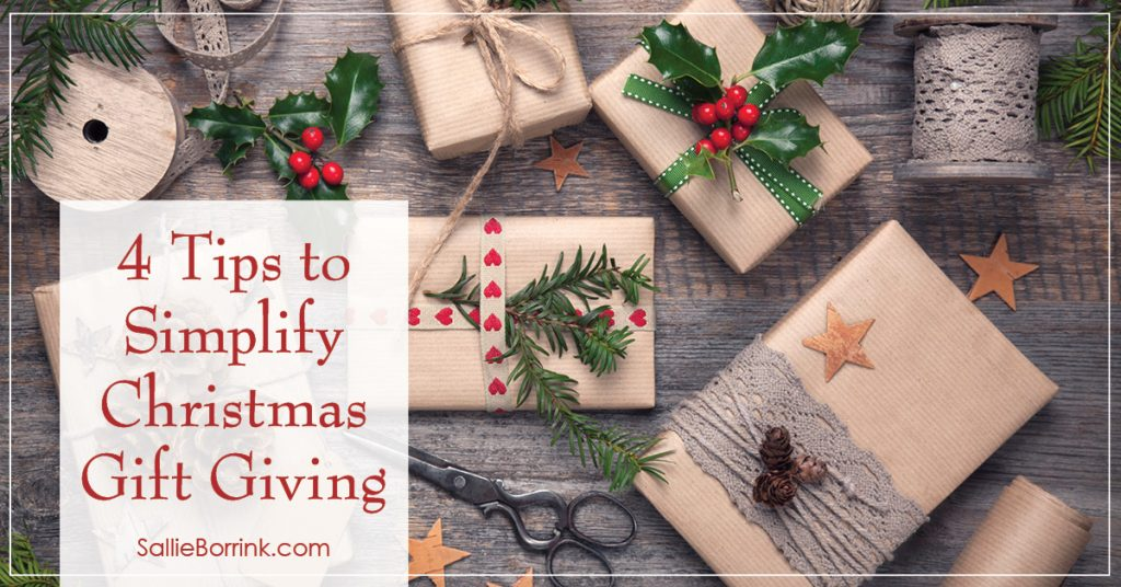 4 Tips to Simplify Christmas Gift Giving 2