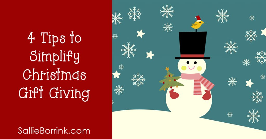 4 Tips to Simplify Christmas Gift Giving