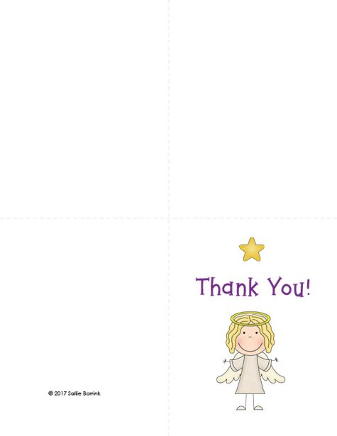 Free Christmas Thank You Cards 11