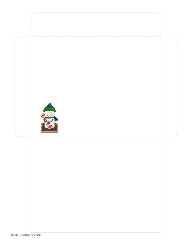 Free Christmas Thank You Cards - Sallieborrink.Com