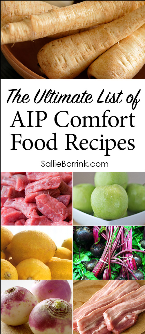 The Ultimate List of AIP Comfort Food Recipes