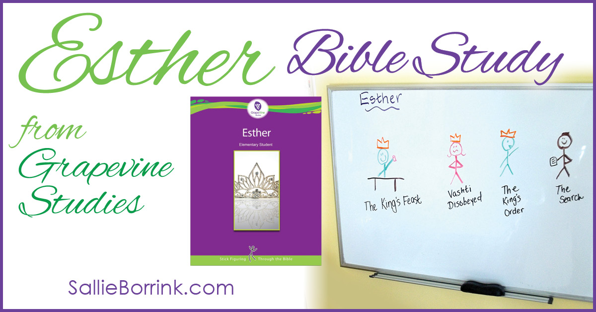 Esther Bible Study from Grapevine Studies 2