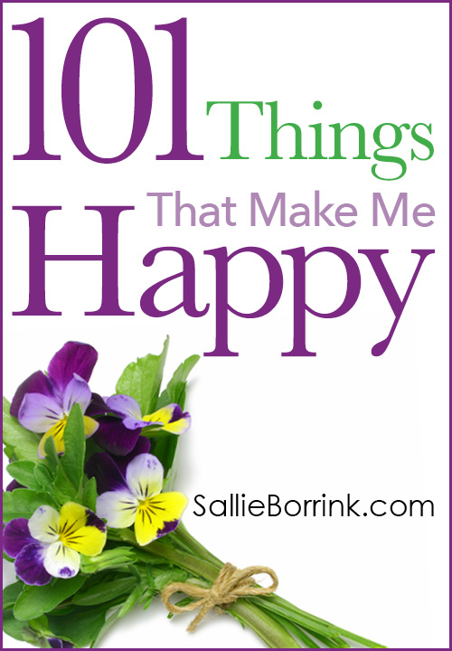 101 Things That Make Me Happy