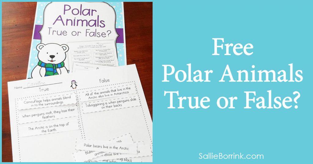 Free Polar Animals True or False 2