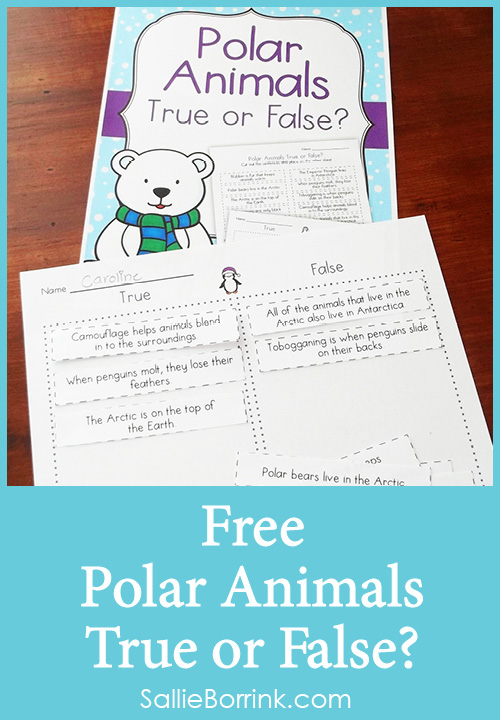 Free Polar Animals True or False