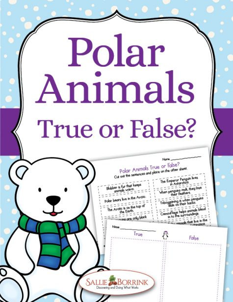 Polar Animals True or False