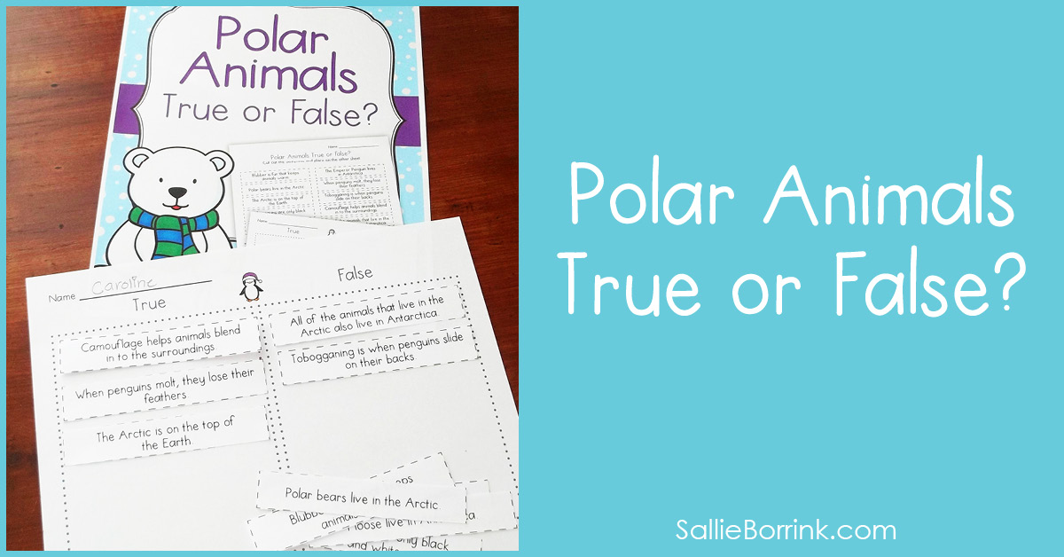 Polar Animals True or False 2