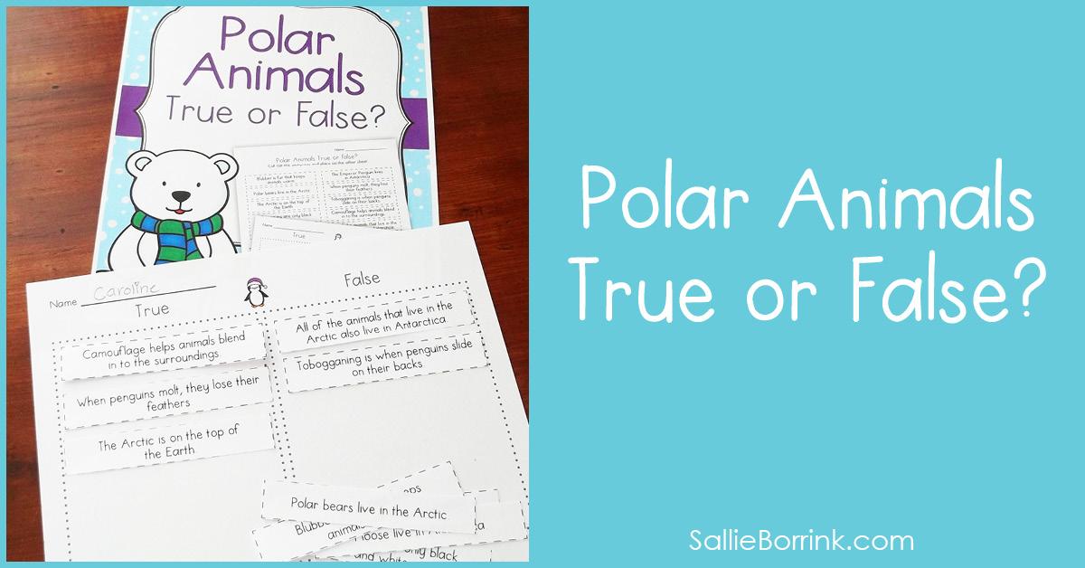 Polar Animals True or False 2