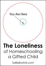 The Loneliness of Homeschooling a Gifted Child