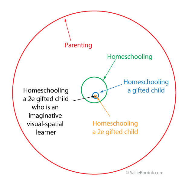 The Loneliness of Homeschooling a Gifted Child Diagram