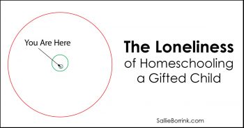 The Loneliness of Homeschooling a Gifted Child 2