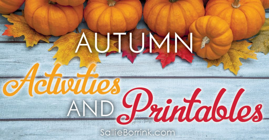 Autumn Activities and Printables 2