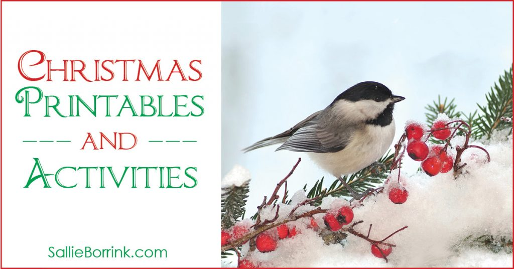 Christmas Printables and Activities 2
